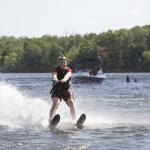 Water Skiiing at Swift Venturing Summer Camp