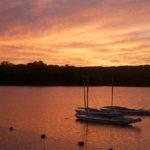 Sunset at at Swift Venturing Summer Camp