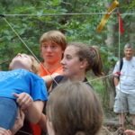Challenge Course at Swift Venturing Summer camp