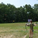 Action Archery at Swift Venturing Summer Camp